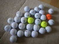 GOLF BALLS - DUNLOP; TOP FLITE; SLAZENGER: MAXFLI etc. PICK YOUR OWN ONLY £10 FOR 50 BALLS.