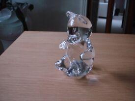 Glass bear by Wedgewood