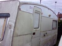 Caravan! Needs TLC.