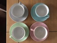 Teacups set