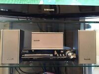 Panasonic DVD Player with 6 speaker surround sound