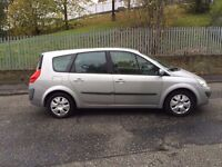 57 Gold 7 Seater Renault Grand Scenic