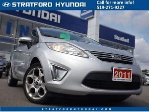2011 Ford Fiesta SEL | AUTO | BLUETOOTH | ALLOYS | HEATED SEATS  Stratford Kitchener Area image 1