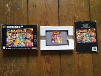 SUPER SMASH BROS (Boxed with instructions) for NINTENDO 64