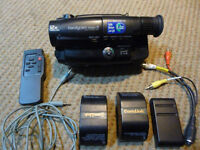 Sony Handycam Video 8 Camcorder + carry bag and accessories