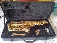 Stagg 77-SA Alto Saxophone with Hard Case