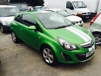 Vauxhall Corsa 1.2 SXi 3dr [AC] (green) 2013