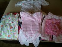 0-3 baby girl clothes bundle