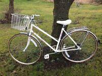 Immaculate vintage ladies town bike