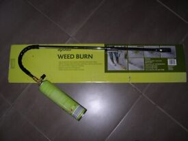 Weed burner, Apollo, brand new, lit twice to see it working! Spark ignition inc Gas can