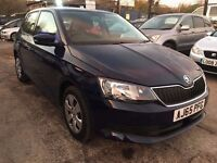 Skoda Fabia 1.0 MPI S 5dr (start/stop)£5,495 p/x welcome FREE 1 YEAR WARRANTY