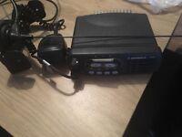 Motorola taxi radio with mic and Ariel