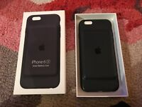 Apple iPhone 6S Smart Battery Case Charcoal Grey