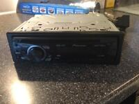 Pioneer car CD player with aux port