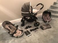 Icandy peach travel system in truffle