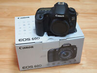 CANON 60D MINT CONDITION NOT 6D , SONY , A7R , 5D , MARK III ,