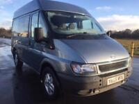 BARGAIN! Ford transit, NO VAT! very rare, auto crew van, low miles, full years MOT ready for work