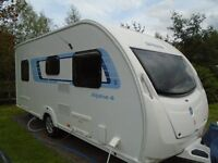 2012 swift alpine 4 fixed bed caravan with mover