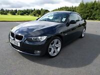 **BMW 320i SE 2008 -Fantastic looking coupe full leather heated seats + Bluetooth phone activation**