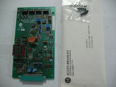 New Allen Bradley 1334-mod-n 50369 Isolated Signal Conditioner Card