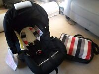 Baby Car Seat and Changing Bag - Both Brand New!