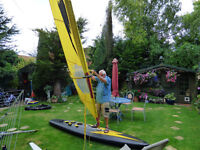 INFLATABLE WINDSURFER AIRTEC 2000 NEVER USED
