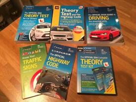 Theory driving test books