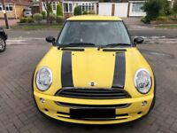 MINI One 1.6L Petrol - Yellow 56 Reg