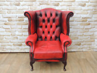 Chesterfield armchair with character (Delivery)