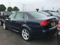 2005 (05 reg) Audi A4 2.0 TDI S Line 4dr Saloon Turbo Diesel 6 Speed Manual