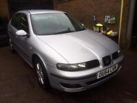 2005 seat Leon 1600cc sx 2 owners