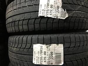 235/70/16 Michelin Latitude X-Ice *Winter Tires*