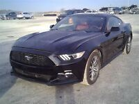 2015 Ford Mustang EcoBoost Premium INT ROUGE/ NOIR 3625KM