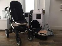 Icandy Peach push chair & carry cot