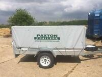Paxton Countryman 750KG Caged Trailer Paxton Countryman 750KG Caged Trailer HIRE - 8FT x 5FT