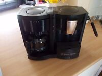 Tefal coffee machine. Makes an 8 cup Caffe, espresso and cappuccino coffees. Good condition