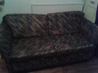 Steel frame bed settee