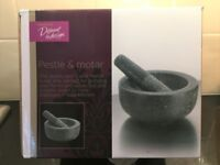 Granite Pestle and Mortar (Brand New) from the Sainsbury Design to be Different Range