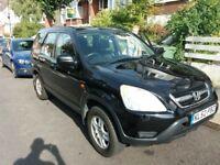 Honda CRV 2.0Vtec 2002 black
