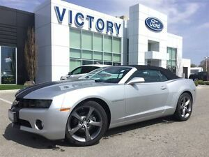 2013 Chevrolet Camaro 2LT  RS convertible, Low k! Leather, Rev C