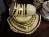 Beautiful, vintage, fine English bone china tea set.