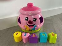Fisher Price cookie Jar (like new) kids toy