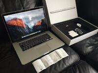 """MacBook Pro 15"""" Retina Latest ELITE Maximum Spec +Receipt +Apple Care"""