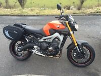 Yamaha MT09 ABS 2016 1700 miles over £2000 of extras (not kawasaki suzuki triumph ktm)
