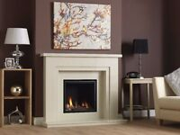 Vola Suite with HE Gas Fire High Efficiency 54 Inch