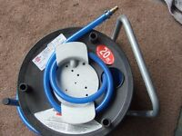 20m air hose and real