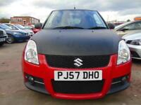 SUZUKI SWIFT 1.6 SPORT FULL SERVICE DRIVES A1 BEAUTIFUL CONDITION DRIVES A1 (red) 2007