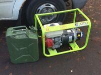 E3250 Honda generator and can