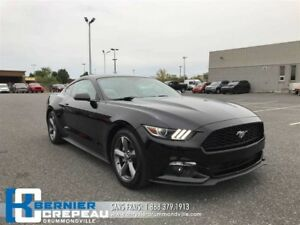 2015 Ford Mustang EcoBoost **CAMERA, A/C, PRISE USB + WOW**