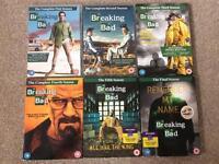Breaking bad 1-5 series DVDs